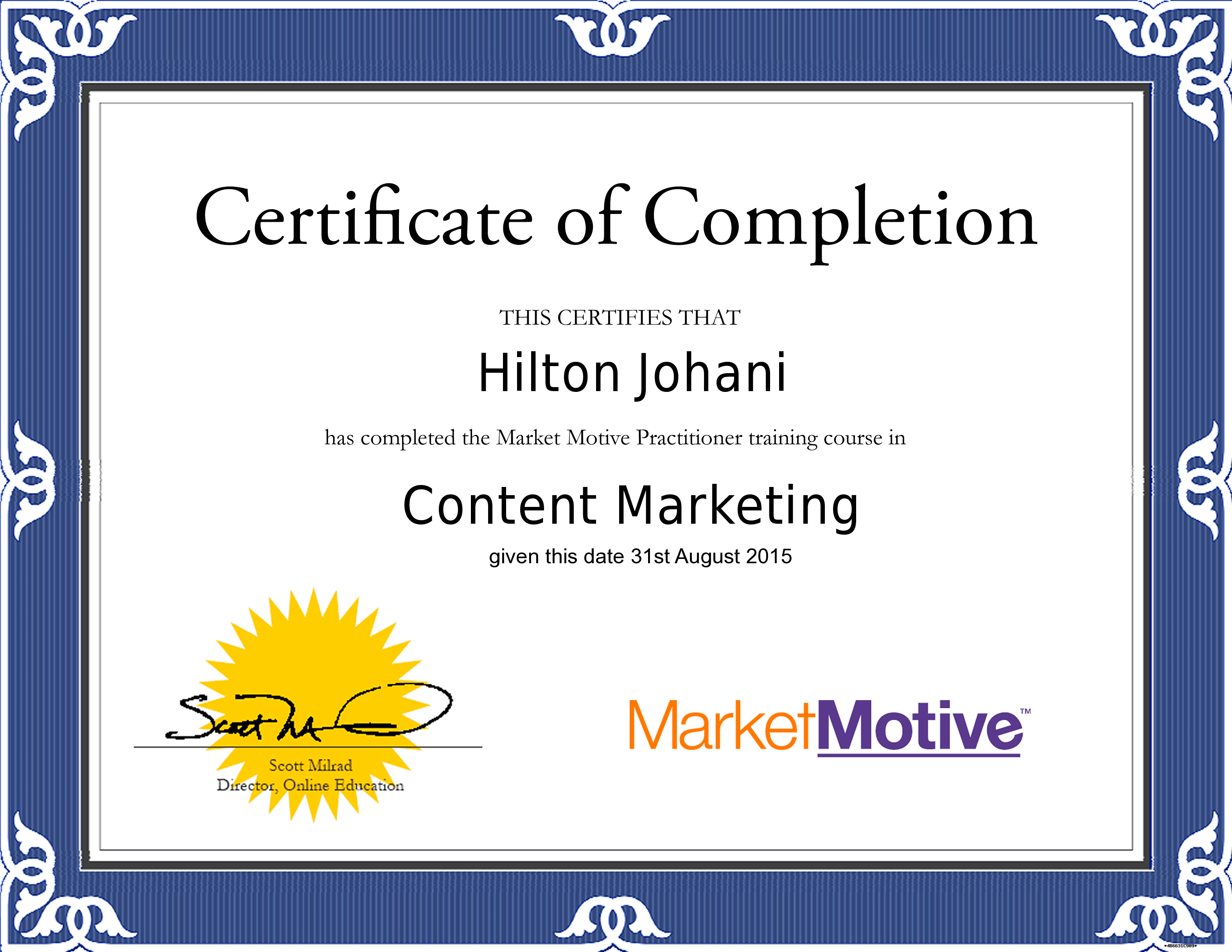 Content-Marketing-Certificate