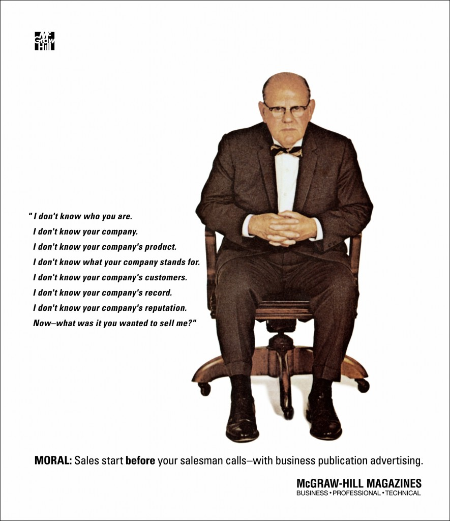 "Content Marketing answers the ""Man in the chair"""